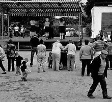 The feast in the village ... by jean-jean