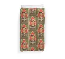 Benjamin K Edwards Collection Matthew McIntyre Chicago White Sox baseball card portrait Duvet Cover