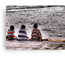 The Boys In Stripes Canvas Print