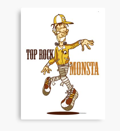 The Top Rock Monsta Canvas Print