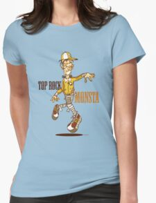 The Top Rock Monsta Womens Fitted T-Shirt