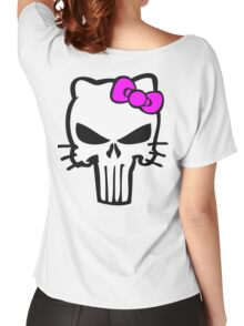 Kitty Punisher Women's Relaxed Fit T-Shirt