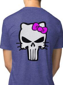 Kitty Punisher Tri-blend T-Shirt