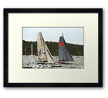 Investec Loyal & Wild Oats | Sydney to Hobart | 2011 Framed Print