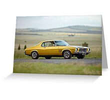 Holden HQ GTS Monaro Greeting Card