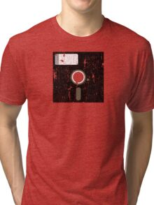 Retro Floppy Tri-blend T-Shirt