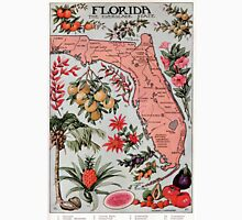 Vintage Map of Florida (1917) Unisex T-Shirt