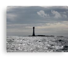 The Smalls Lighthouse Canvas Print