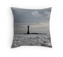 The Smalls Lighthouse Throw Pillow
