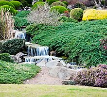 Japanese Gardens, Cowra by Cate O'Donnell