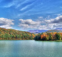 A Fall Day At The Lake by James Brotherton