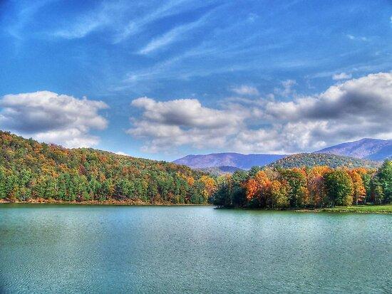 A Fall Day At The Lake by James Brotherton