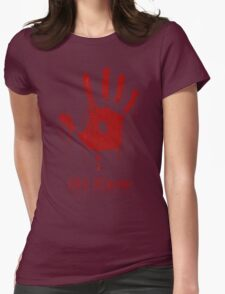 """AWESOME Dark Brotherhood """"We Know"""" Womens Fitted T-Shirt"""
