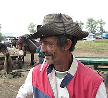 Horse Dealer with Cigarette  by branko stanic