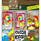 "Rick the chick ""THE MAGIC SHELL (ITALIANO) parte 3"" by CLAUDIO COSTA"