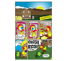 "Rick the chick ""THE MAGIC SHELL (ITALIANO) parte 3"" Photographic Print"