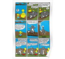 """Rick the chick  """"THE MAGIC SHELL (Pigrotto il gatto vegan) parte 8"""" Poster"""