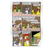 "Rick the chick  ""THE MAGIC SHELL (ITALIANO) parte 26"" Poster"