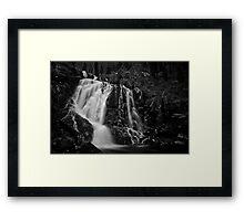 Steavenson Falls I B&W Framed Print
