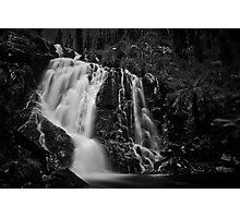 Steavenson Falls I B&W Photographic Print