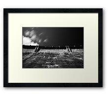 Maroondah Dam Wall Framed Print