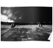 Maroondah Dam Wall Poster