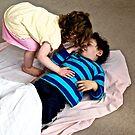 Cuddling cousins by davridan