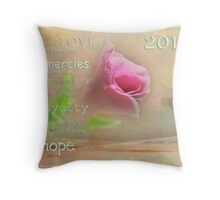 Hope for the New Year Throw Pillow