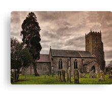 Church of St Mary, Tharston Canvas Print
