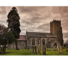 Church of St Mary, Tharston Photographic Print