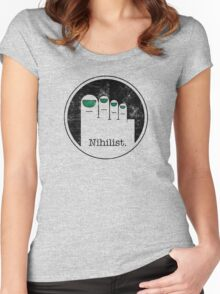 Minimalist Nihilist Women's Fitted Scoop T-Shirt