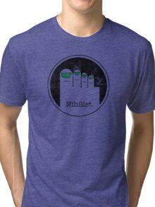 Minimalist Nihilist Tri-blend T-Shirt
