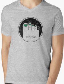 Minimalist Nihilist Mens V-Neck T-Shirt