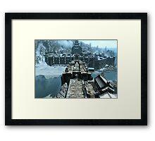 Skyrim Windhelm Framed Print