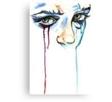 TearDrop/ORIGINAL PAINTING by Amit Grubstein Canvas Print