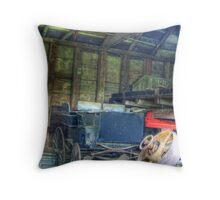 Antique Carriage Throw Pillow