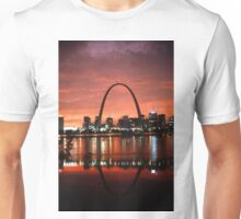 The St. Louis Arch at Dusk Photograph Unisex T-Shirt