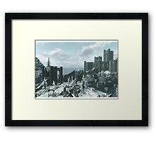 Skyrim Winterhold Framed Print