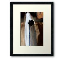 dishcloth Framed Print