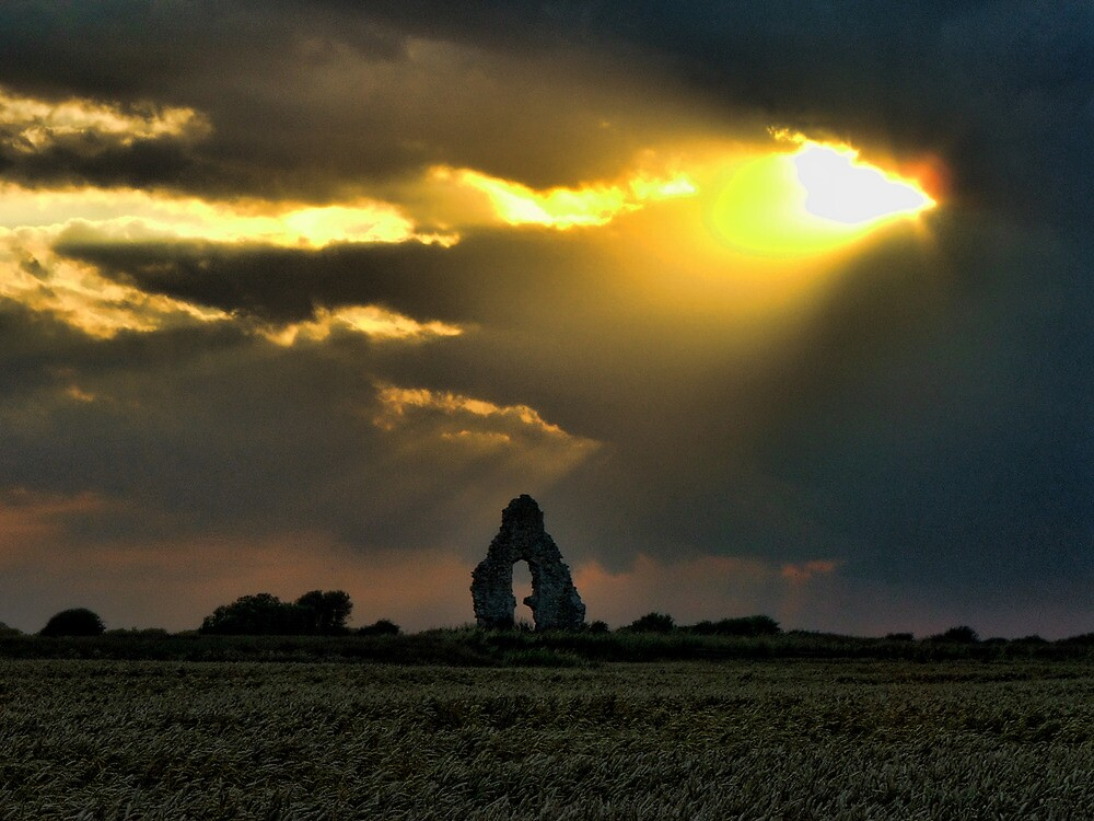 Midley Church Ruin  by Dave Godden