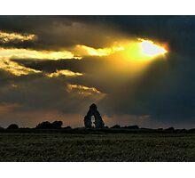 Midley Church Ruin  Photographic Print