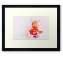 I'm Your's :) Framed Print