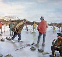 A day out Curling and a Wee Dram to keep you warm by Joyce Grubb
