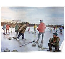 A day out Curling and a Wee Dram to keep you warm Poster