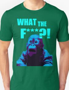 What The F***?! HILARIOUS MONKEY MEME T-Shirt