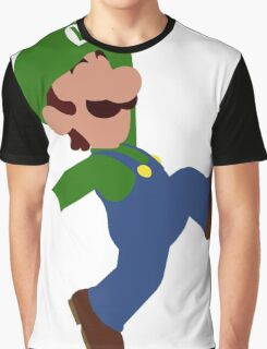 Luigi Minimalist Design Graphic T-Shirt