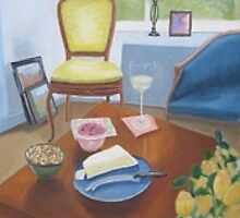 Interior Still Life  by Patricia Cleasby