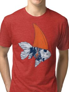 Big fish in a small pond Tri-blend T-Shirt