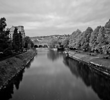 Pulteney Bridge, Bath by caffeinepowered