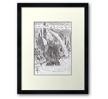 ghost rider in the star wars universe Framed Print